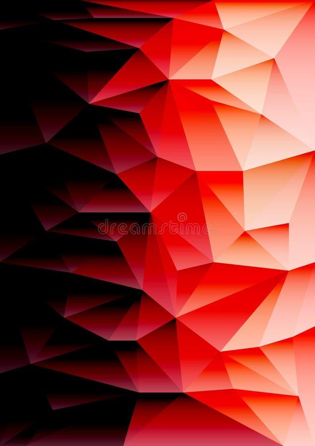 几何抽象的背景 免版税库存图片