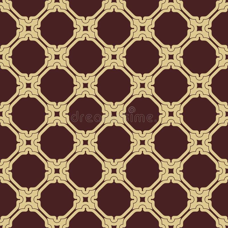 Download 几何无缝的传染媒介样式 向量例证. 插画 包括有 抽象, 摩洛哥, 图画, 艺术, browne, 豪华 - 62532661