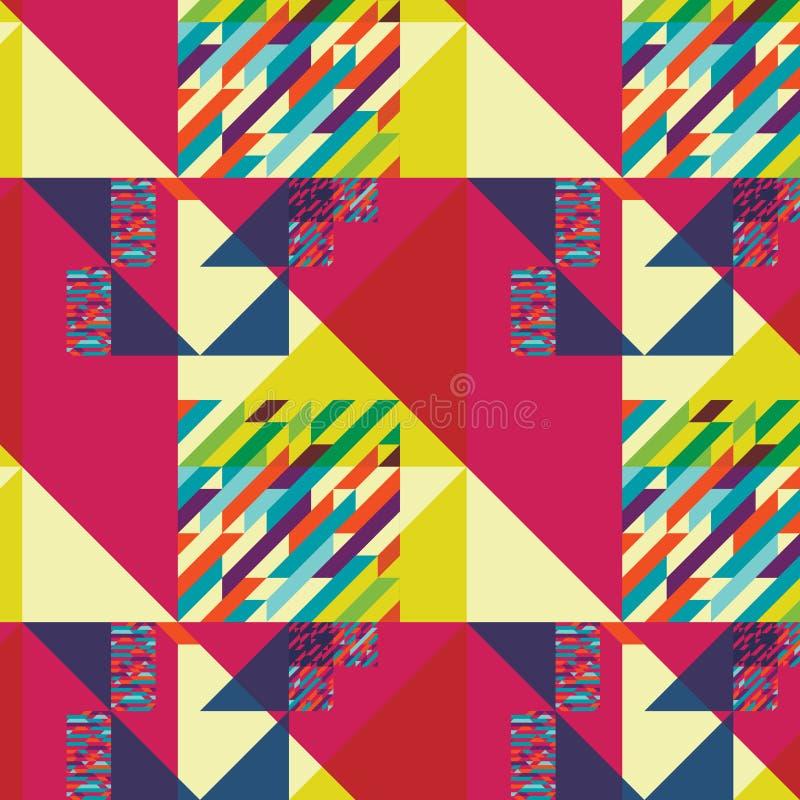 几何样式艺术 免版税库存图片