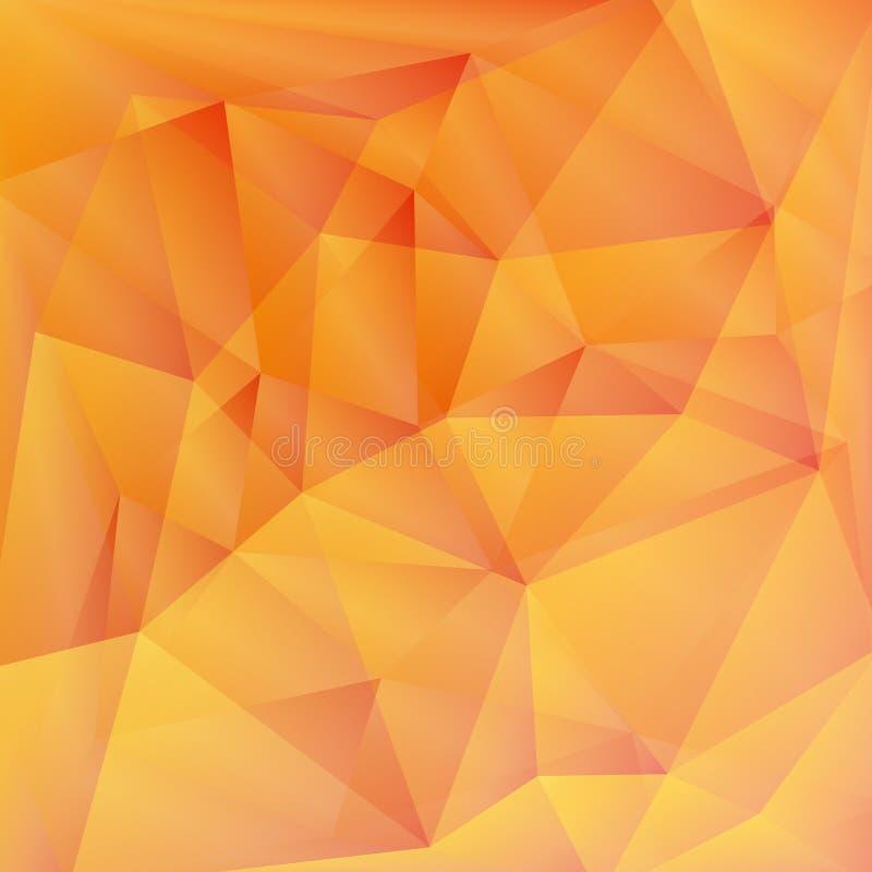 几何样式,三角背景 皇族释放例证