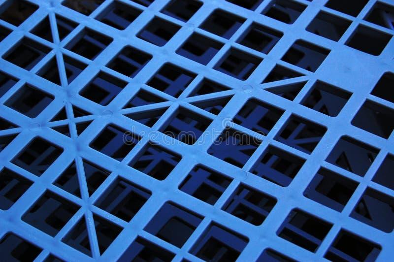 几何模式塑料 库存图片