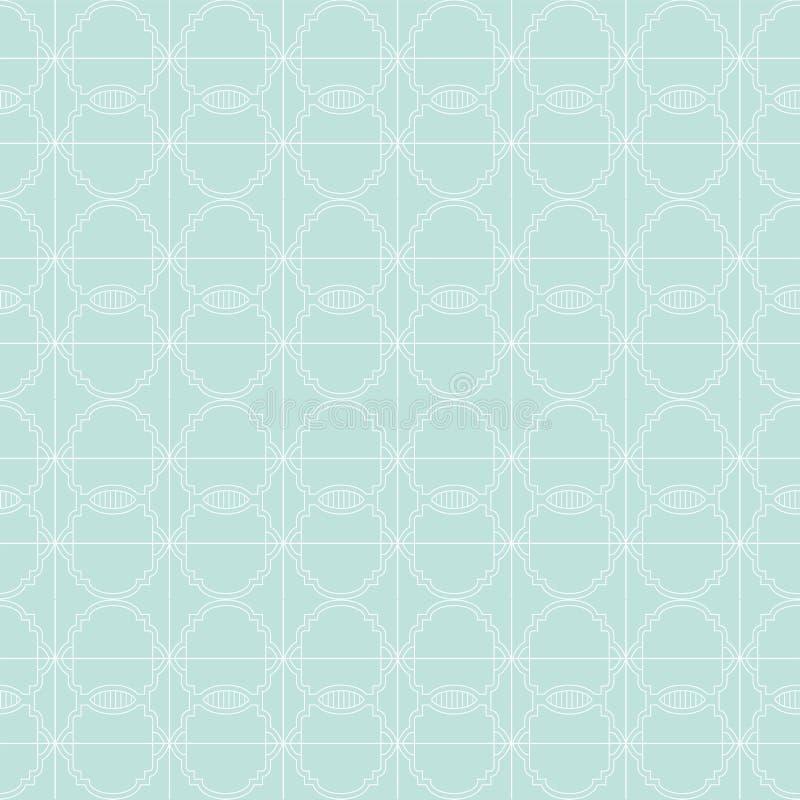 几何模式无缝的向量 重复几何 向量例证