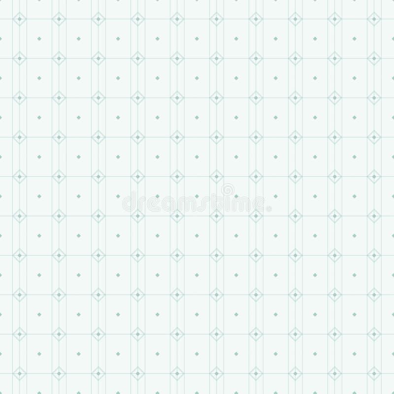 几何模式无缝的向量 重复几何 库存例证