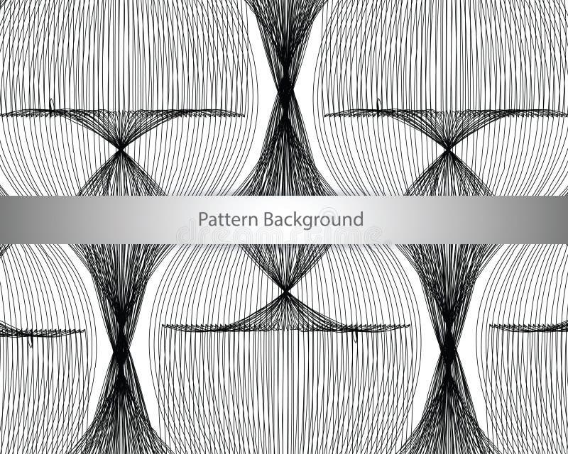 几何模式 背景无缝的向量 免版税库存图片