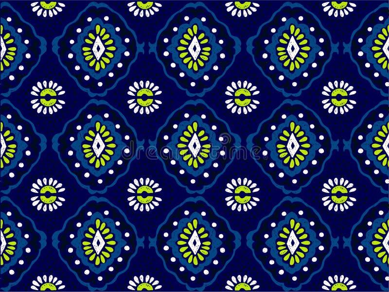 几何民间传说装饰品 部族种族传染媒介纹理 在阿兹台克样式的无缝的条纹图形 向量例证