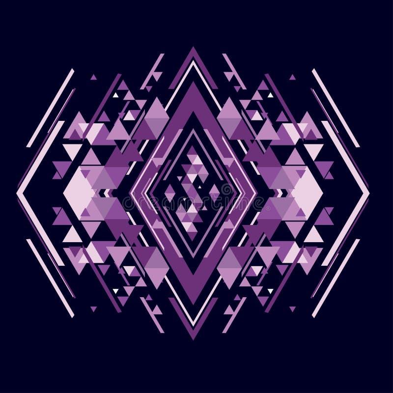 几何的抽象 免版税库存照片
