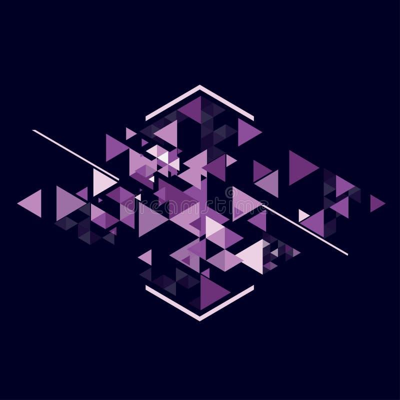 几何的抽象 免版税库存图片