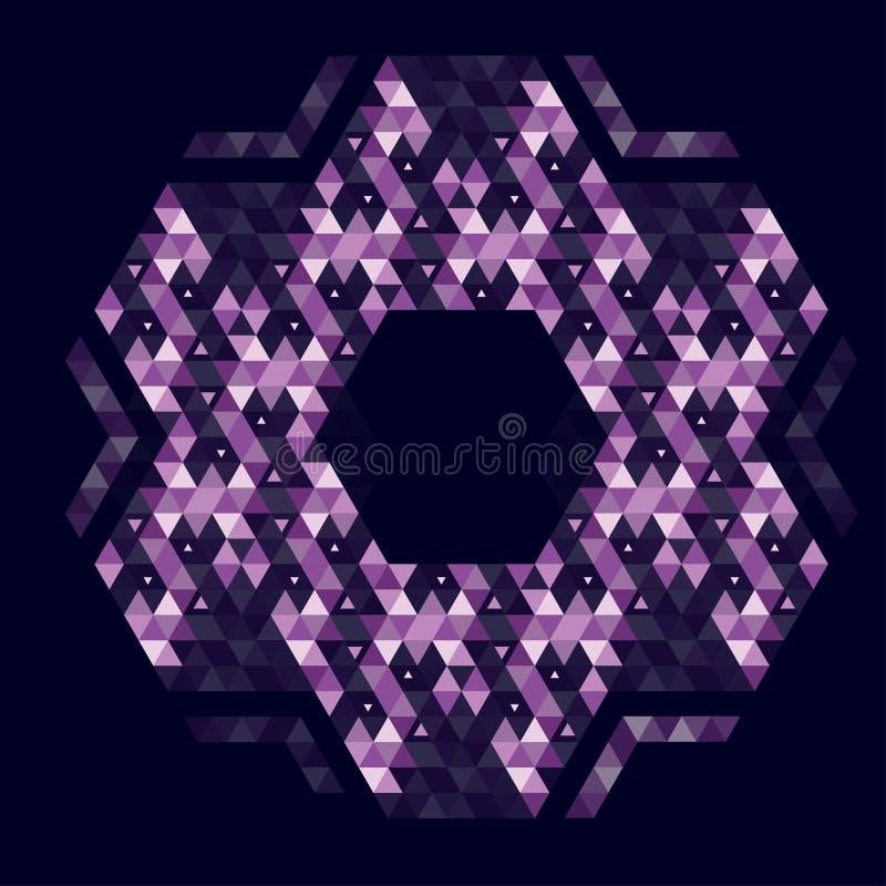 几何的抽象 库存图片