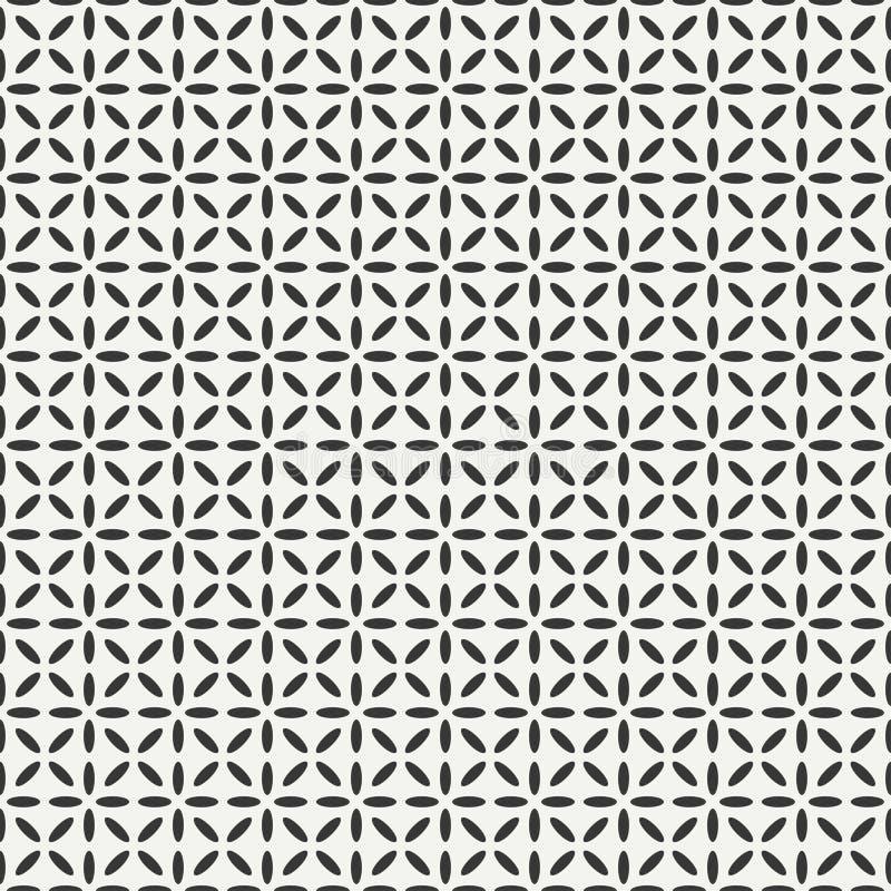 几何线单色抽象行家 库存例证