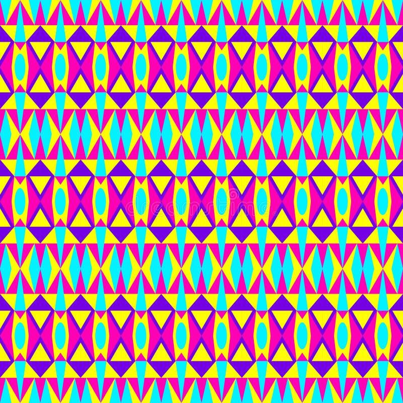 几何行家样式 向量例证