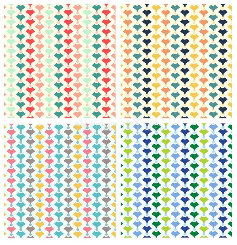 几何重复样式 库存照片