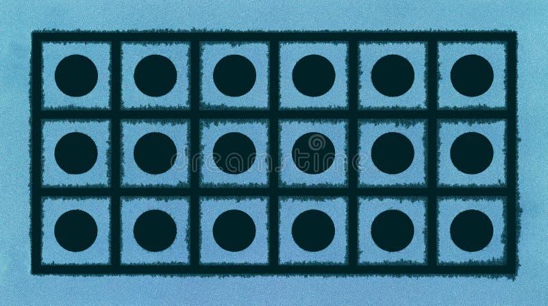 几何霜背景 免版税图库摄影