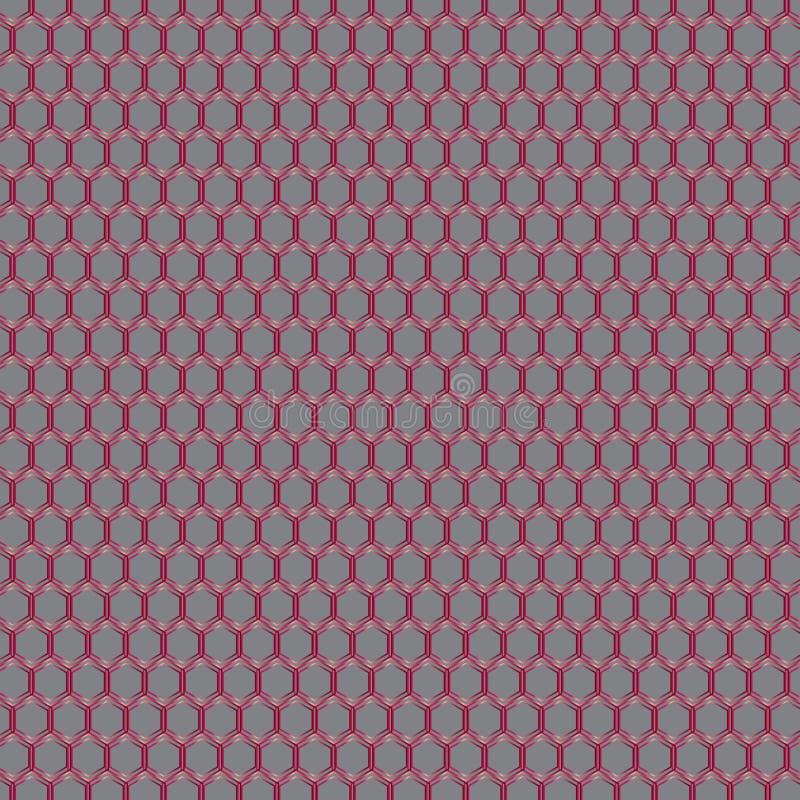 几何领带印刷品 皇族释放例证