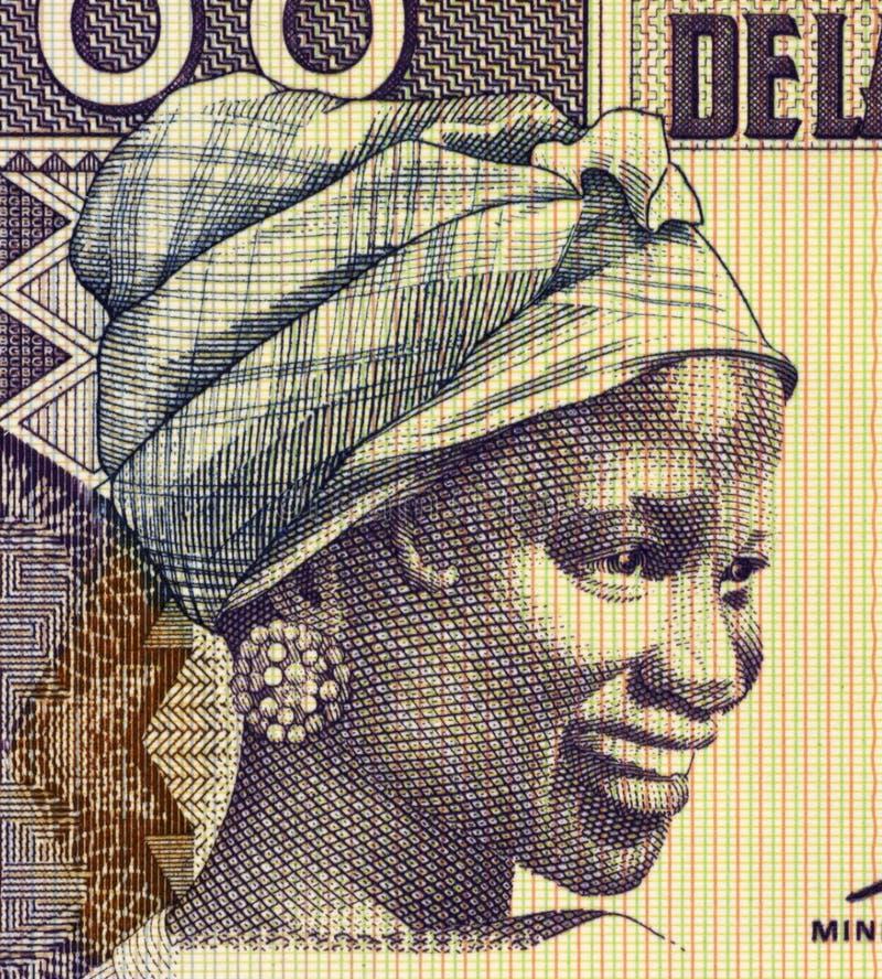 几内亚妇女年轻人 图库摄影