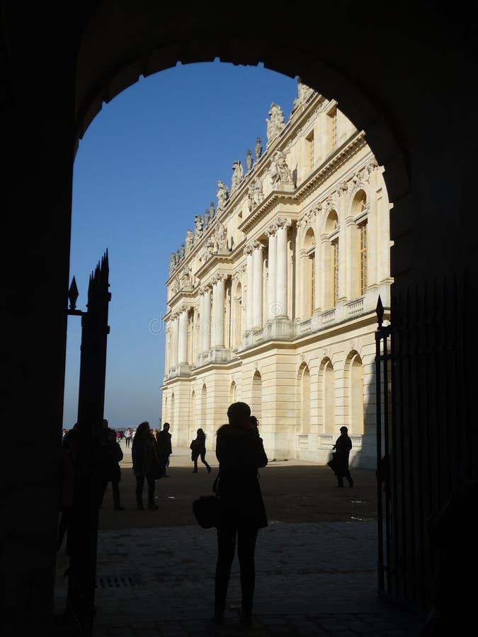 凡尔赛宫殿  免版税图库摄影