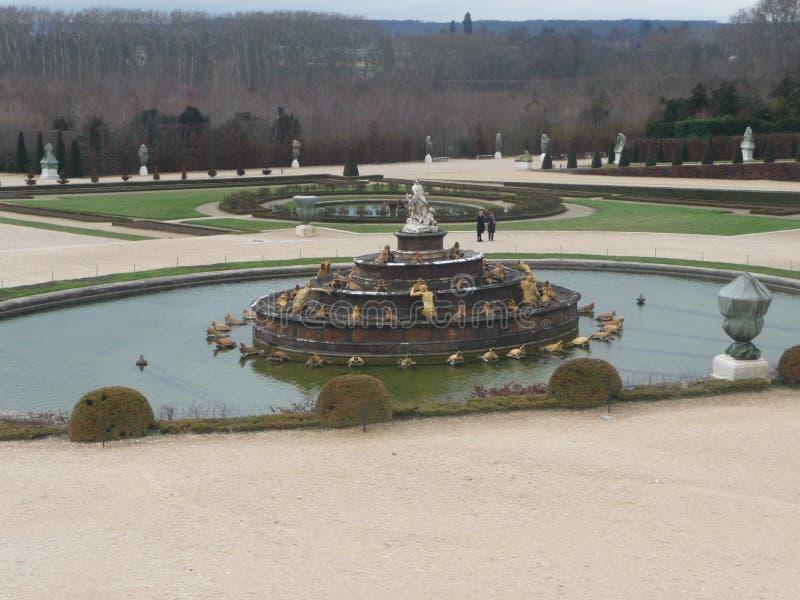 巴黎-凡尔赛(喷泉) 免版税库存照片
