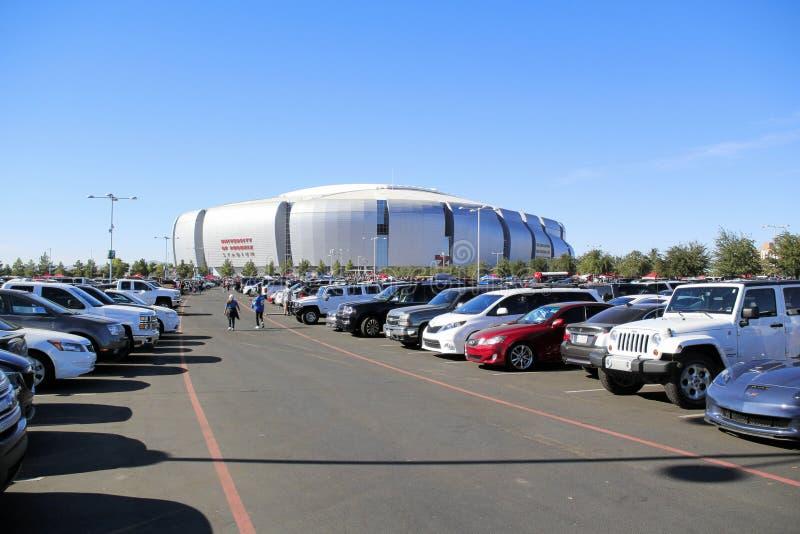 凤凰城大学体育场,格伦代尔, AZ - 2014年11月16日 库存图片