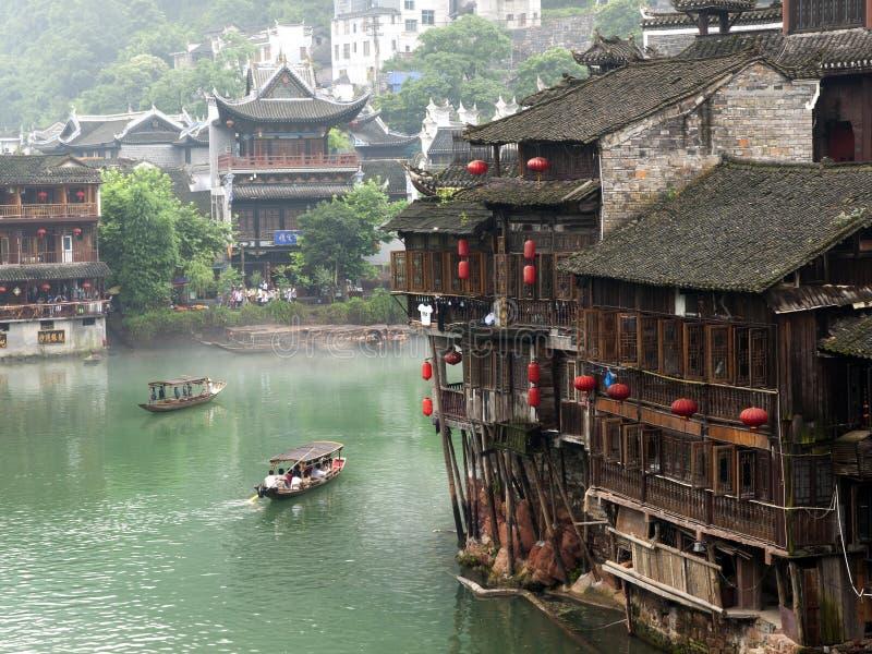 凤凰牌的沱江河,中国 库存照片