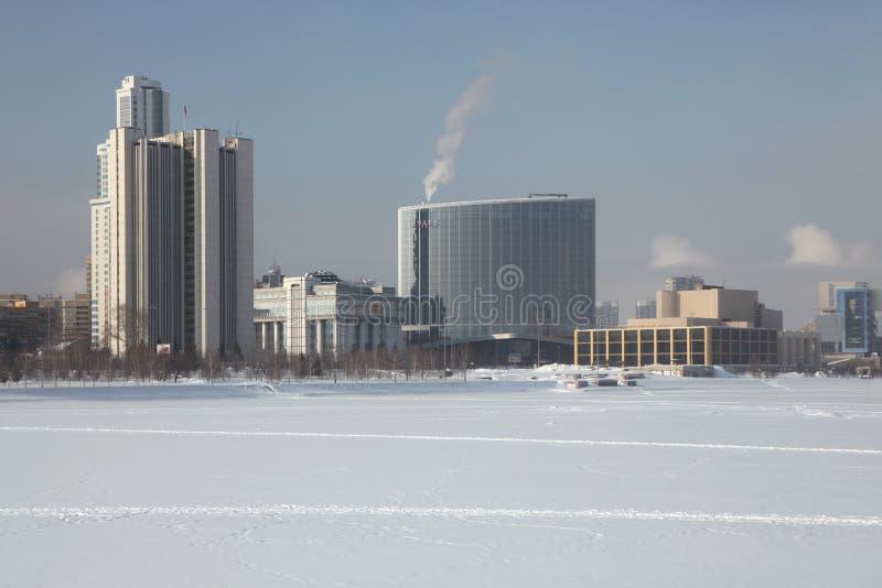 凯悦饭店在叶卡捷琳堡,俄罗斯 免版税库存照片