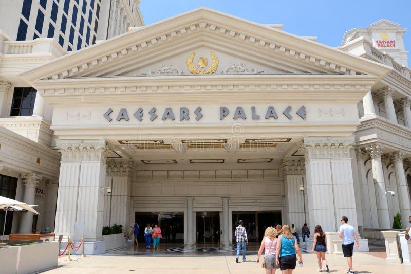 凯撒宫入口 库存照片