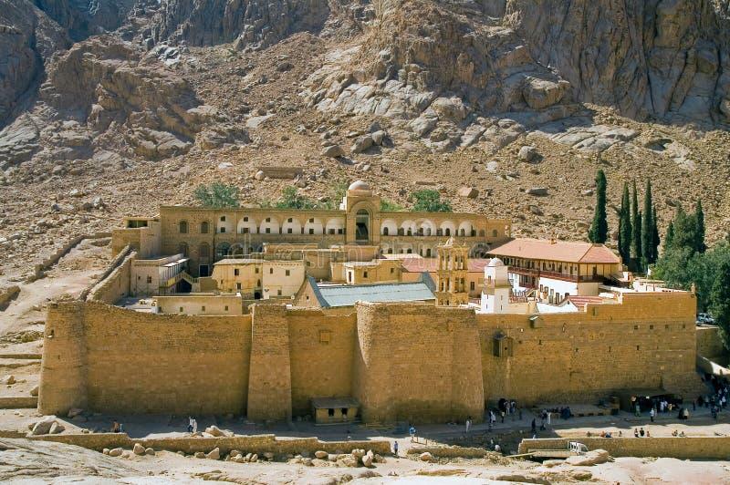 凯瑟琳修道院s圣徒 库存图片