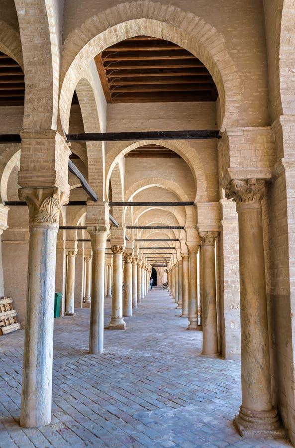 凯鲁万清真大寺在突尼斯 免版税库存照片