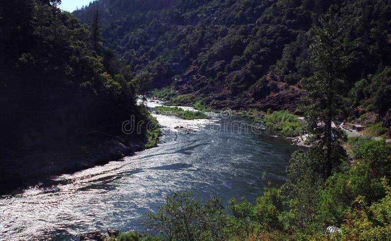 凶恶河,俄勒冈 库存照片