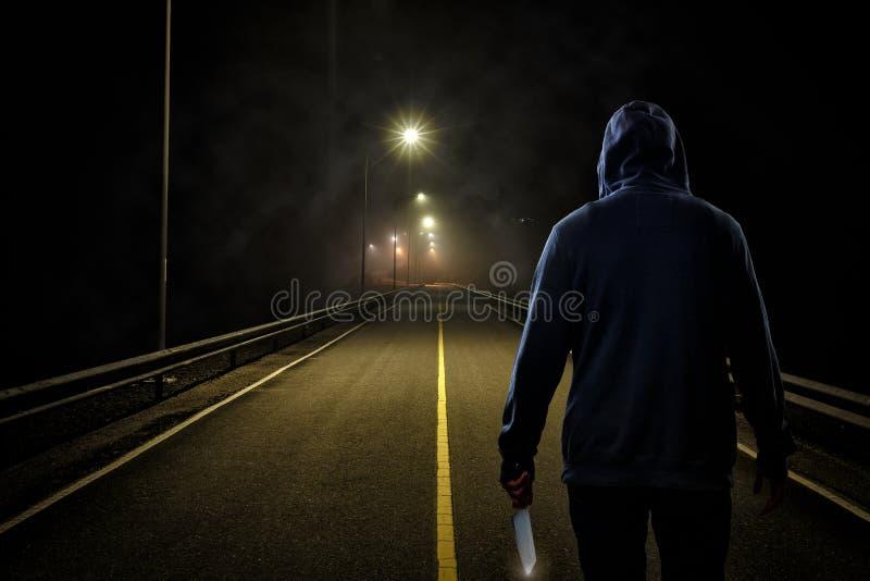 凶手 免版税库存照片