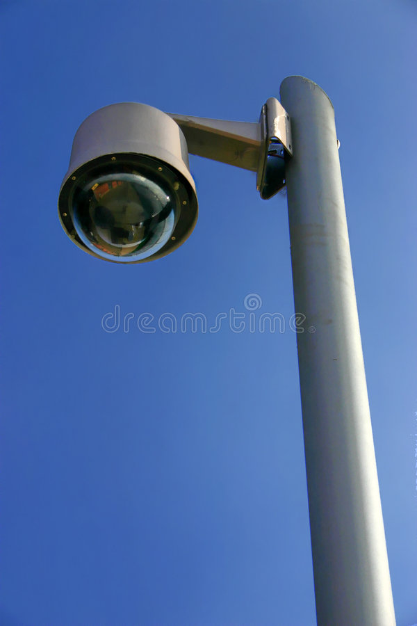 凸轮监视 免版税库存照片