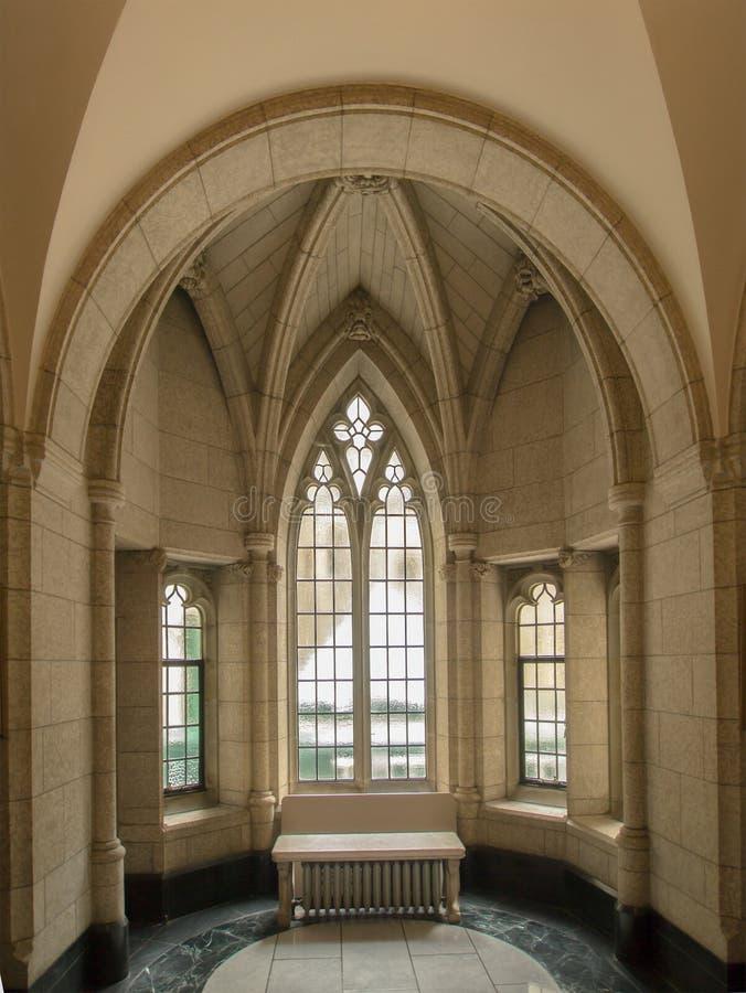 凹室和窗口 库存照片