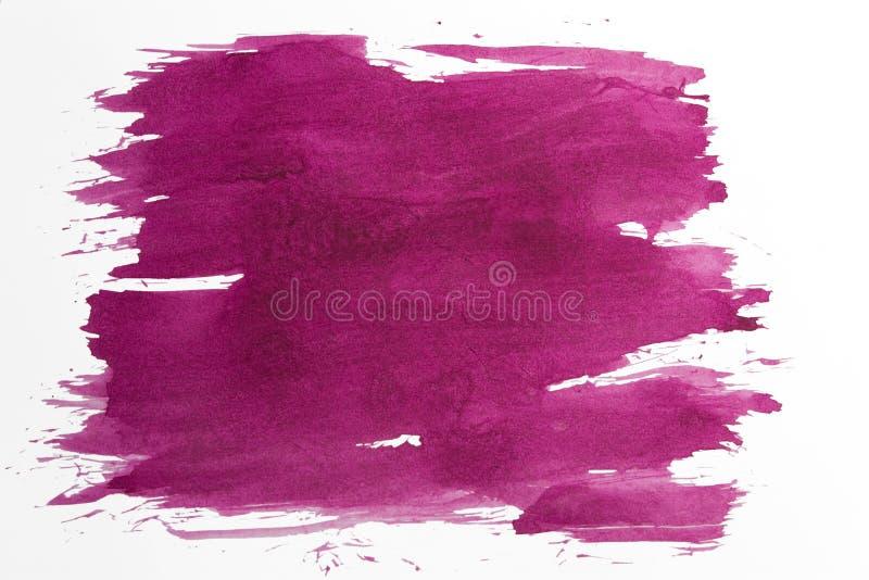 凹道紫色纹理 免版税库存照片