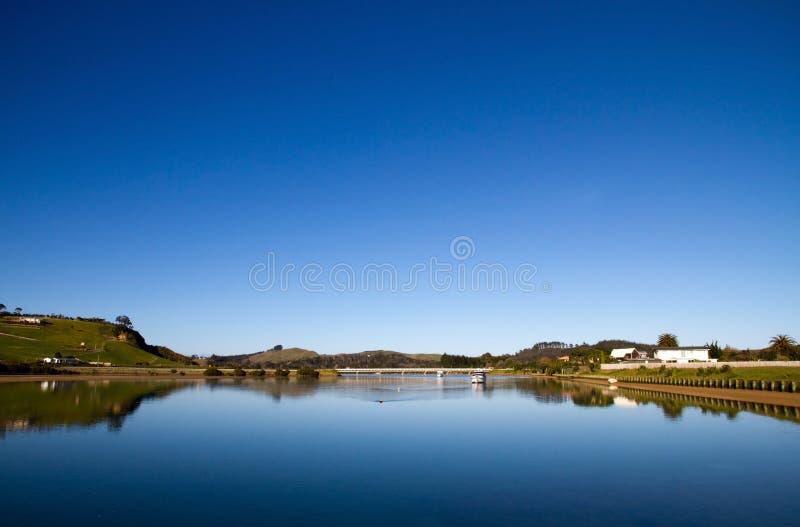 出海口新的北国taipa西兰 库存图片