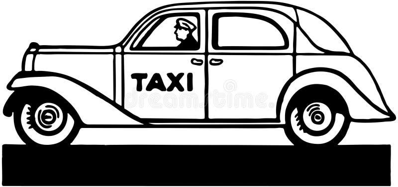 出租汽车 皇族释放例证