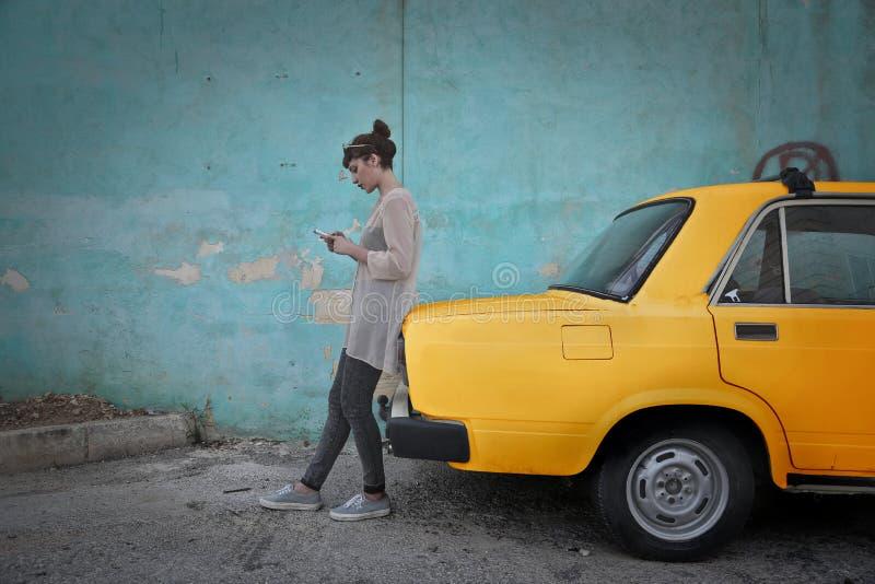 出租车 免版税库存图片