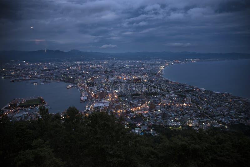 函馆北海道日本 免版税图库摄影