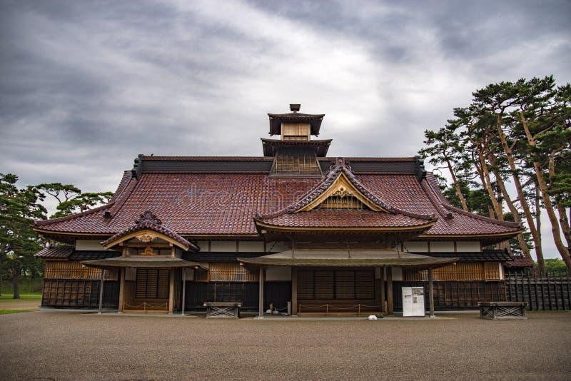 函馆城堡或前行政官办公室,日本 图库摄影