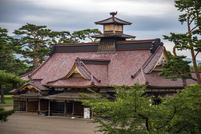 函馆城堡或前行政官办公室,日本 库存照片