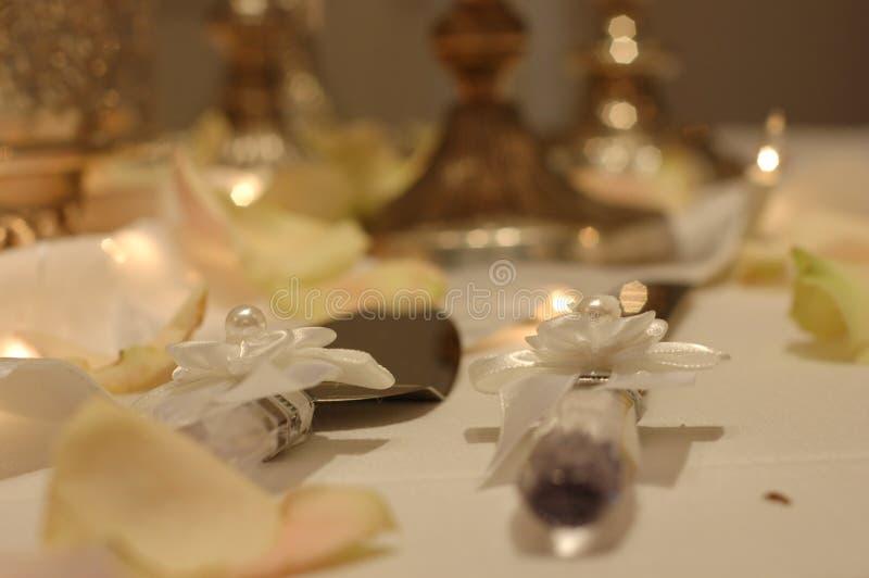 刀子婚礼 免版税图库摄影