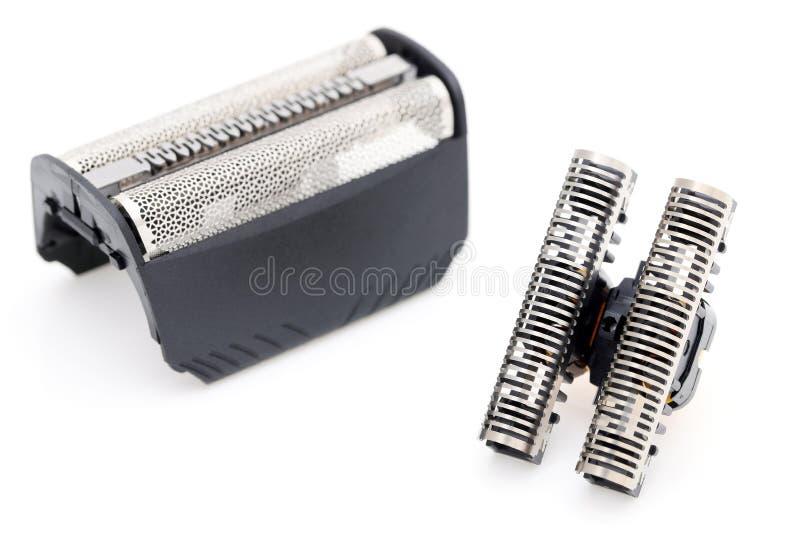 刀片刀头和剃具替换 库存照片