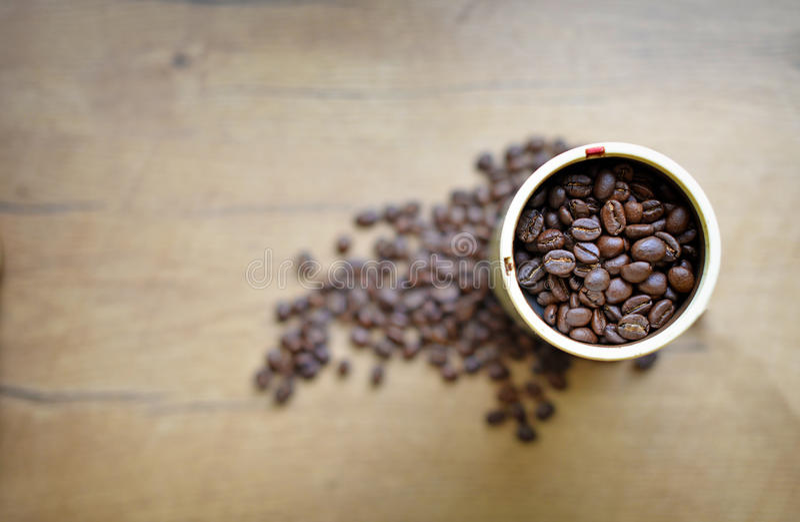 刀片或推进器磨咖啡器 库存照片