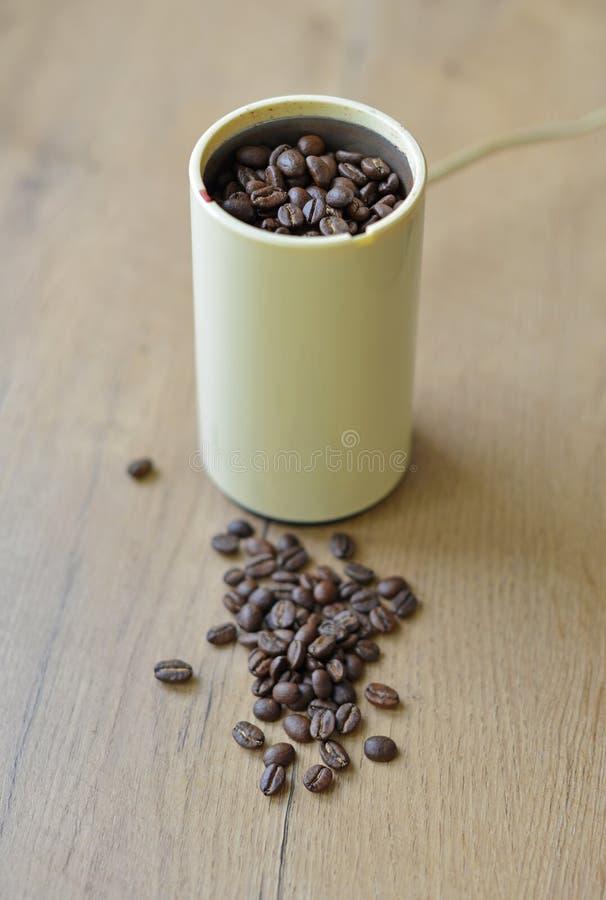 刀片或推进器磨咖啡器 图库摄影