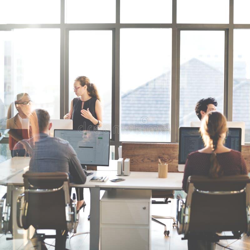 分享支持企业概念的合作计划 图库摄影