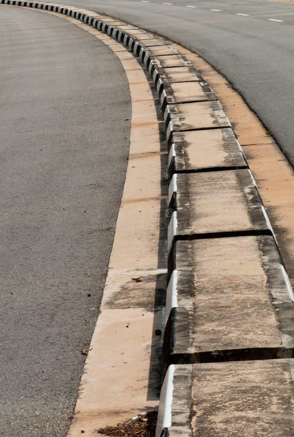 分切器公路交通 免版税库存图片