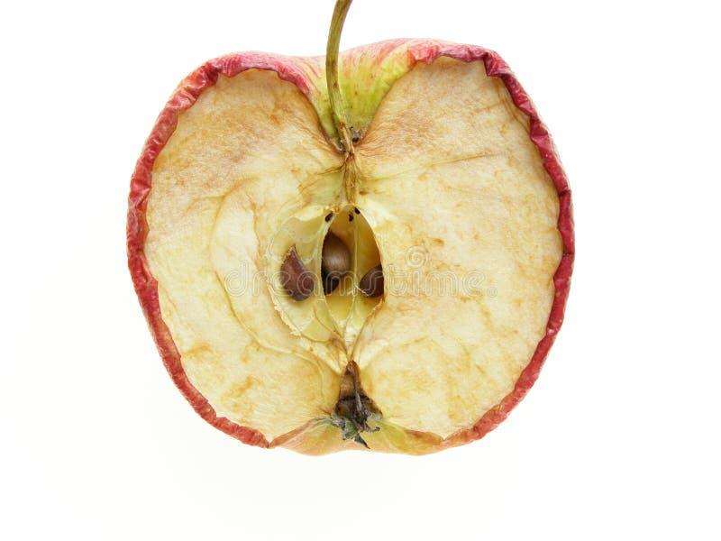 分开的苹果 库存照片