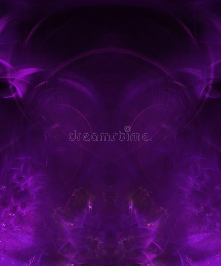 分数维抽象背景盖子样式典雅的闪闪发光作用超现实的形状动态装饰魔术 向量例证