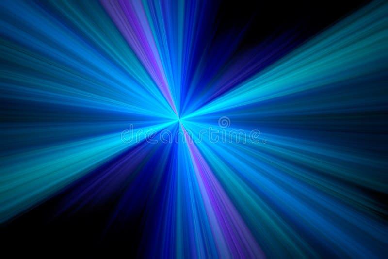 分数维starburst 向量例证