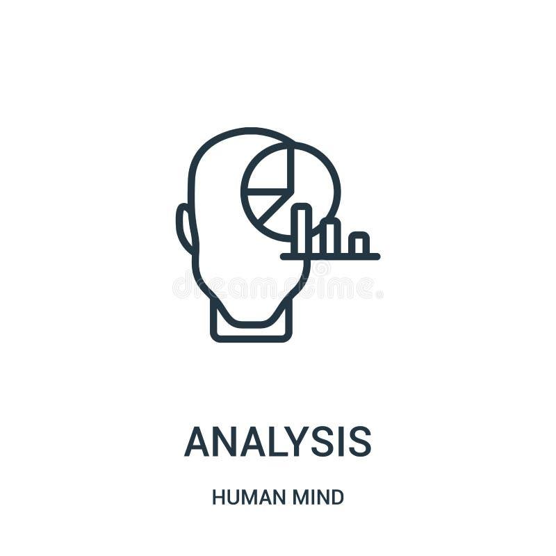 分析从人脑汇集的象传染媒介 稀薄的线路分析概述象传染媒介例证 r 皇族释放例证