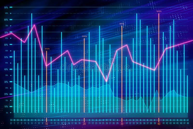 分析和财务概念 库存例证