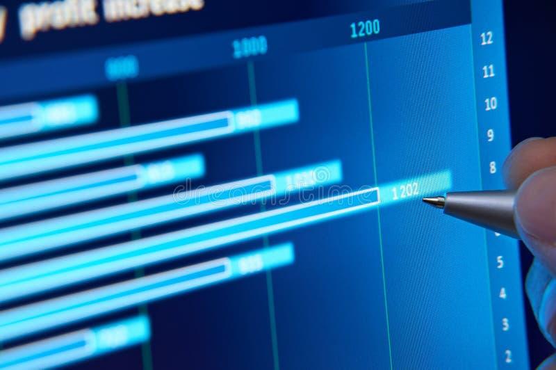 分析市场 免版税库存照片