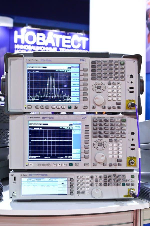 分析程序信号 库存图片